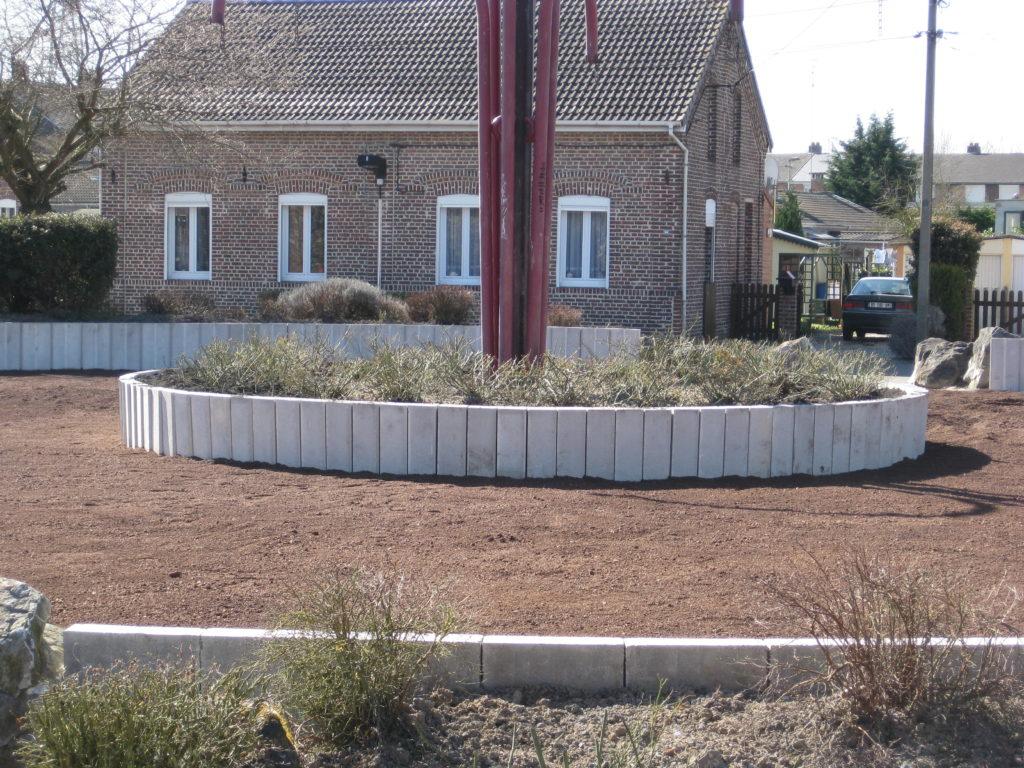 Murs de soutènement Hecq TP (Travaux Publics) 59 - aménagement extérieur - assainissement - Maubeuge Valenciennes Cambrai Douai Lille Saint Quentin
