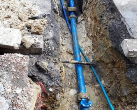 Hecq TP (Travaux Publics) 59 - entretien et réparation réseau d'eau potable